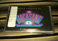 The Jacksons SEALED Cassette Tape An American Dream Jackson 5 Michael