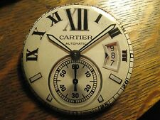Cartier Automatic Multi Dial Swiss Watch Advertisement Pocket Lipstick Mirror