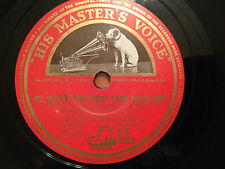 """DOROTHY MAYNOR """"Oh Sleep! Why Dost Thou Leave Me""""/""""The Magic Flute"""" 78rpm 12"""" VG"""