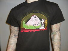 PETER THE HUTT TSHIRT Star Wars FAMILY GUY Jabba Princess Leia Sexy Slave Outfit