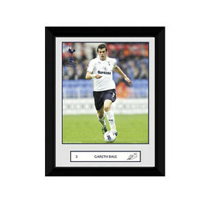Gareth Bale Tottenham Hotspurs framed 8 in x 6 in photo Spurs EPL Wales Welsh