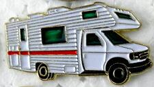 CLASS C MOTORHOME CAB OVER CAMPER RV TRUCK LAPEL PIN BADGE 1 INCH