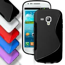 Samsung Galaxy S3 Mini Silicone Gel S Line Case Cover Thin Slim Back Bumper