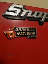 82-87 Grand National Emblem/for your Snap on toolbox