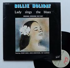 "LP Billie Holiday  ""Lady sings the blues"""