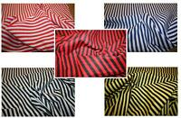 1 Meter Striped Polycotton Fabric Arts And Crafts Material