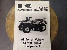 Kawasaki Manual KLF300 Bayou 300