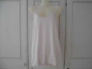 BNWT Majestic Filatures Pink Strappy Vest/Camisole Top - 2/UK10