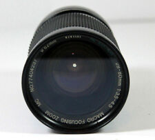 Vivitar RL Edition 28-80mm f3.5-4.5 Macro Focusing Zoom Film Camera Lens