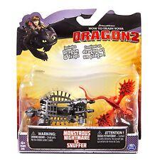Dragons DRAGONTRAINER SET PERSONAGGI PACK DI BATTAGLIA - Albtraum VS.SNUFFER