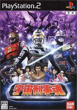 PS2 Uchu Keiji Tamashii The Space Sheriff Spirits Japan F/S