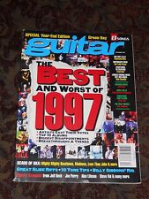 Guitar  Magazine 1997 Fleetwood Mac, Our Lady Peace, Everclear, Costello, Vai,