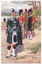 Argyll & Sutherland Highlanders Pipe major & Bandsmen, Unused