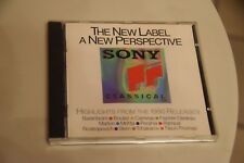Sony Classical Highlights from the 1990 Releases A New Perspective CD ASK 2021