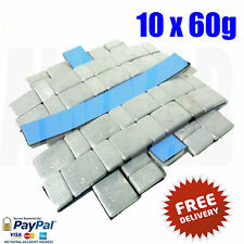 10 Adhesive Lead Free 60G Gram Strips Stick On Alloy Steel Wheel Balance Weights