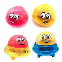 Children Kid Fun Electric Induction Sprinkler Water spray light Baby Bath Toy