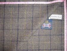 Kiton 100% WOOL JACKETING FABRIC MADE IN SCOTLAND EXPRESSLY FOR KITON – 1.11 m.