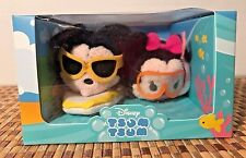 Disney Mini Mickey and Minnie Mouse Tsum Tsum Plush Hawaii Box Set New in Box