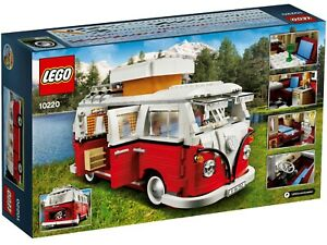 Lego Creator Volkswagen T1 Camper Van (10220) - FAST SHIPPING and WELL PACKED