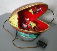 Lampe Veilleuse Vintage Kitch  Poissons dans Coquillage Vallauris Monaco
