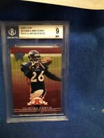 ROOKIE 2002 LEAF ROOKIE AND STARS#154 CLINTON PORTIS GRADED 9 MINT BECKETTGRADED