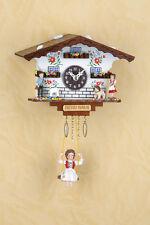 Schaukeluhr con Heidi Black Forest Swinging Doll Clock Made in Germany 504sq