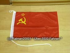 Fahnen Flagge UDSSR Sowjetunion Bootsfahne Tischwimpel - 30 x 40 cm