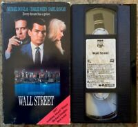 """Wall Street"" VHS (1653) CBS FOX 1988 Early Release Academy Award Winner"