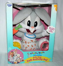 LOONEY TUNES LOVABLES BABY BUGS SOFT ACTIVITY PAL IOB