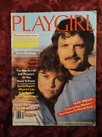 PLAYGIRL October 1981 JACQUELINE BISSET TREAT WILLIAMS Construction Workers