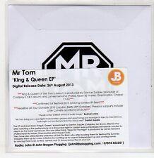 (ER269) Mr Tom, King & Queen EP - 2013 DJ CD