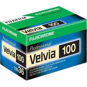 FujiFilm Fujichrome Velvia 100 135/36 Film - Single roll