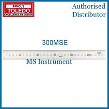 Toledo 300MSE - Stainless Steel Double Sided Rule Metric - 300mm