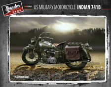 ThunderModel US MILITARY MOTORCYCLE INDIAN 741B 1/35 MODEL KIT FROM JAPAN