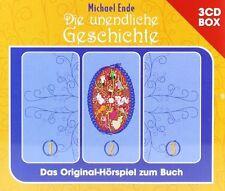3 CDs * DIE UNENDLICHE GESCHICHTE - ENDE -3 CD-BOX  # NEU OVP !