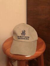 The Ritz Carlton San Francisco Tan Baseball Cap Hat Adjustable
