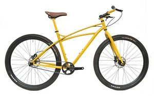 "Trek Gary Fisher Sawyer 29"" Disc Steel Adventure Bike 19"" Single Spd Belt Drive"