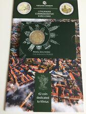 2017 Lithuania 2 €  coin dedicated to Vilnius