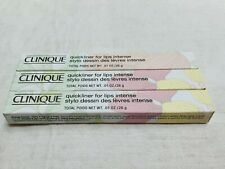 Clinique Three New in Box Quickliner for Lips Intense Sassafras