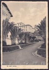 SAVONA PIETRA LIGURE 63 MILANO OSPEDALE SANTA CORONA Cartolina viaggiata 1937