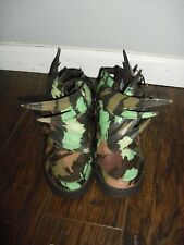 US 6 ADIDAS x JEREMY SCOTT JS 3.0 WINGS CAMO GREEN SNEAKERS S77804