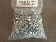 MGA, MGB, MGBGT, MG Midget UNF NUTS & BOLTS, SCREWS, WASHERS 400 APPROX
