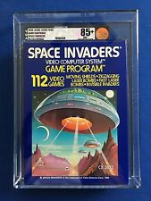 1980 Atari 2600 Space Invaders VGA 85+ U85 Uncirculated Brand New Factory Sealed