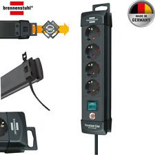 Brennenstuhl Premium-Line, Steckdosenleiste 4-fach (Steckerleiste mit Schalter ?