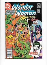 Wonder Woman #281 July 1981 The Joker cover The Demon Huntress