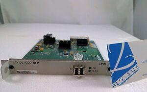 Juniper JXU-1SFP-S 1x100/1000 SFP Ethernet uPIM 710-017699 w/ AXS85-192-M3 GBIC