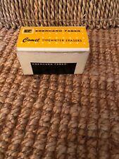 Eberhard Faber Comet Tyoewriter Erasers. Count of 8.