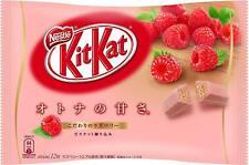 Kitkat kit kat Japanese raspberry Nestle 12 bars chocolate Japan Limited s0283