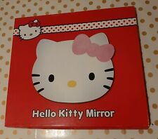 Brand New Hello Kitty Safety Wall Mirror Bedroom Self Adhesive Approx 30 x 35 cm