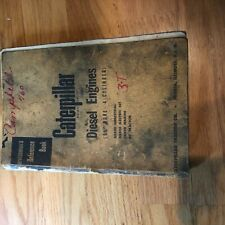 Cat Caterpillar Diesel Engine Servicemens Reference Book Manual 4 Cyl 5 34 D7